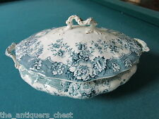 "CERAMIC ART- CROWN POTTERY covered tureen, ""Ruskin"" Stoke-on-Trent[*14]"