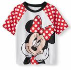 MINNIE MOUSE UPF50 Rash Guard Swim Top Shirt NWT Toddler's Size 2T 3T or 4T 24