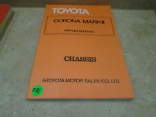 Toyota Corona Mark  II Chassis Used Manual VP 70s VP-CM281