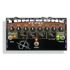 Radial Engineering Tonebone PZ-Pre Acoustic Instrument Preamp DI Effects Pedal