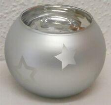 Deko-Kerzenständer & -Teelichthalter aus Glas mit Kugel