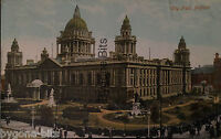 City Hall Belfast Co Antrim Postcard Northern Ireland 1901