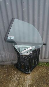 SAAB 9-3 2003-2010 CONVERTIBLE PASSENGER SIDE N/S/R REAR WINDOW GLASS WITH MOTOR