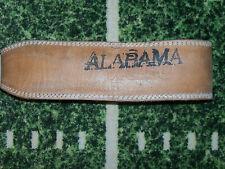 Valeo Alabama Crimson Tide Workout Weight Lifting Training Leather Gym Belt