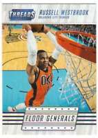 2016-17 Panini Threads Floor Generals Insert #11 Russell Westbrook Thunder