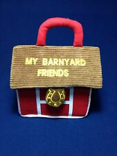 My Barnyard Friends kids Toy  Bag  7 inches x 5 inches Pre-owned