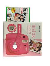 FUJIFILM Instax, Mini 9, Fotocamera, Flamingo Pink + Instant mini 10x2