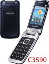 Samsung GT-C3590 Black Unlocked 3G Phone