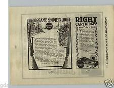 1924 PAPER AD Remington Ammo Rifle Dexter Washing Machine Electrotypes Art Work