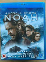 Noah Blu-ray 2014 Biblical Flood Ark Religious Movie Epic with Russell Crowe