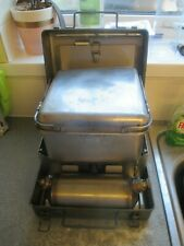 NEW British army number 12 stove  and  USED  pot