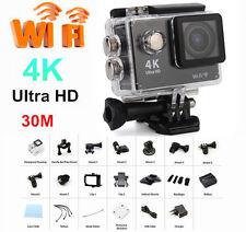 Pro Sports Action Cam Camera UHD 4K WiFi 30M Waterproof Videocamera Subacquea GO