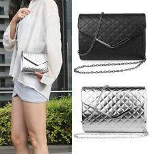 Mini Faux Lady Wallet Crossbody Bag Women Fashion Leather Chain Handle Handbag