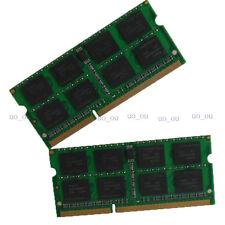 NEW 8GO 2X4GO PC3-8500 DDR3 1066MHZ Sodimm Laptop Mémoire Notebook Ram Non-Ecc