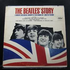 The Beatles - The Beatles' Story 2 LP VG TBO-2222 Capitol 1964 USA Vinyl Record
