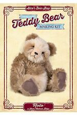 Mohair Bear Making Sewing Kit - Rolo - 29cm when made