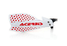 New Acerbis X-ULTIMATE Handguards Motocross Guards Red White CRF CR 125 250 450
