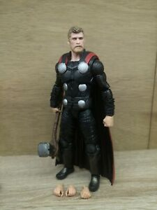 Marvel Legends Thor Infinity War/Endgame CUSTOM PAINT JOB WITH EXTRA HANDS