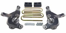 "Ford Ranger Lift Kit 4"" Front Spindles 2"" Rear Cast Steel Blocks 01-09 4x2 Truck"