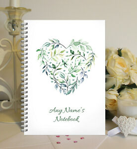 Personalised A5 Softbacked Notebook, & FREE A5 Non personalised Birthday Card.