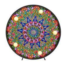 DIY LED Diamond Painting Full Special Shaped Drill Mandala Embroidery Light Tool