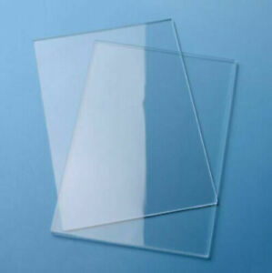 Clear Acrylic Sheets Perspex Plate Plastic Plexiglass Material Cut Panel 6-SIZES