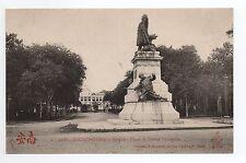 INDOCHINE COCHINCHINE SAIGON la place de la statue de Gambetta