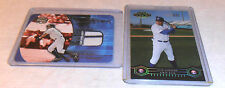 2- NICK JOHNSON CARD LOT 1 JERSEY MAKE OFFER ON 1 OR MORE CARDS NEW YORK YANKEES