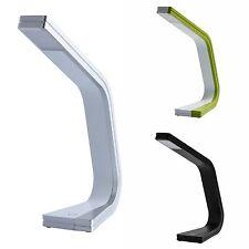 Lampe de chevet à poser sur table design moderne LED couleur noir, vert ou blanc
