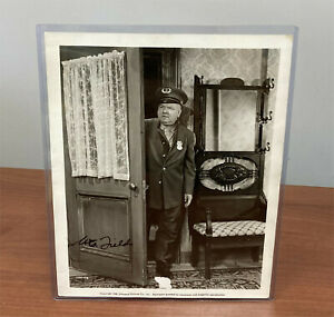 W.C. Fields Hand Signed Autographed Photograph Print