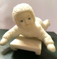 """DEPT 56 WINTER TALES OF THE SNOWBABIES  """"HOLD ON TIGHT"""" ORIGINAL BOX"""