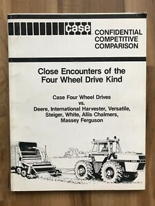 Case Tractor Comparison Four Wheel Drive vs. Deere Steiger White Allis Massey