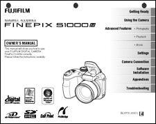 FujiFilm FinePix S1000 FD Digital Camera User Guide Instruction  Manual