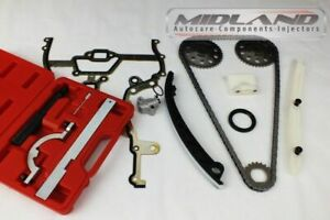 VAUXHALL CORSA D 1.0 1.2 1.4 16v ENGINE TIMING CHAIN KIT inc GEARS & TIMING TOOL