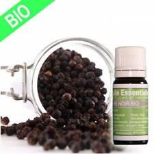 Huiles essentielles de Poivre noir 10 ml 100% garantie sans mélange ni ajout
