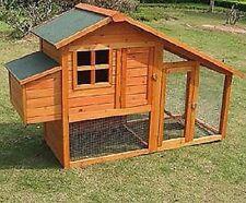 Recinto pollaio gabbia conigliera in legno  lepri,polli  GRANDE  L  190 cm
