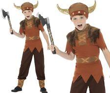 Viking Warrior Boys Fancy Dress School Child Kids Costume Book Week Ages 3 - 10 Medium (7-9 Years)