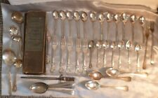JOB LOT OF ANTIQUE/VINTAGE CUTLERY-MOSTLY SILVER PLATED INC VINERS & MATCHING
