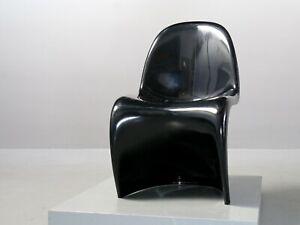 Verner Panton für Vitra Panton Chair 1971 schwarz Fehlbaum