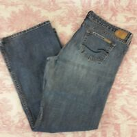 Levi Strauss Signature Womens Low Slim Flare Size Juniors 17