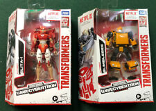 Transformers War For Cybertron Netflix Deluxe Bumblebee And Elita-1 New IN HAND