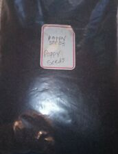 Bitter Poppy Seeds Bulk 3 lb Personally Tested and Quality Approved