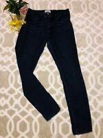 Paige Womens Jeans Hoxton Ultra Skinny Dark Blue Stretch Fit Size 29 Relaxed