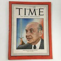 Time Magazine June 6 1949 Vol 53 #23 Former Sec. of Defense Louis A. Johnson