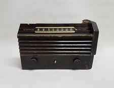 Antique 1945 RCA Victor 56X3 Superheterodyne 6-Tube Radio for Restoration