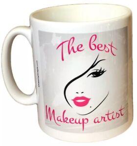 Makeup Artist Gift Mug - The Best Makeup Artist. Fun Gifts For Makeup Artists