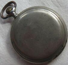Longines Pocket Watch nickel chromiun hunter case 52,5 mm. in diameter