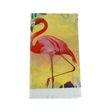 Flamingo tablecloth wedding party table cover supplies birthday party decor