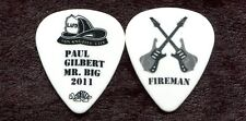MR BIG 2011 What If Tour Guitar Pick!! PAUL GILBERT custom concert stage Pick #3