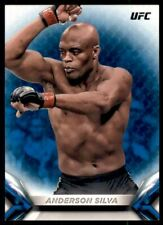 2018 Topps UFC Knockout Blue #7 Anderson Silva /99